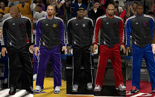 NBA 2K13 Christmas Warmup Uniforms Patch
