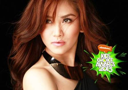 Sarah Geronimo Nominated at the Nickelodeon Kids' Choice Awards 2013