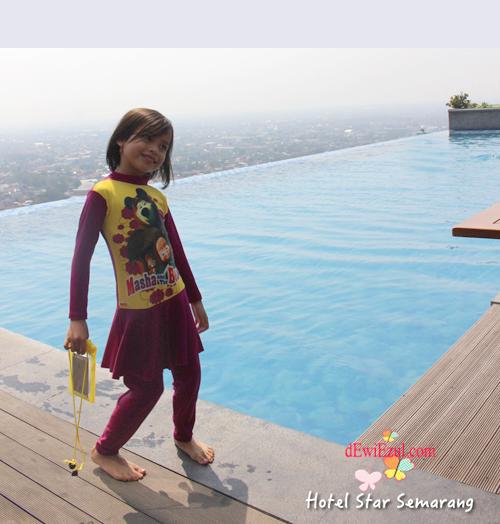 kolam renang tertinggi di kota semarang, objek wisata di semarang,