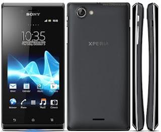 Sony Xperia J sudah ready stock di Indonesia
