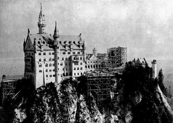 Neuschwanstein Castle, Bavaria, 1868-1884