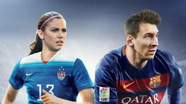 FIFA 16 Portada US Alex Morgan