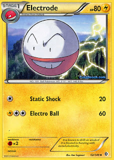 Electrode Boundaries Crossed Pokemon Card