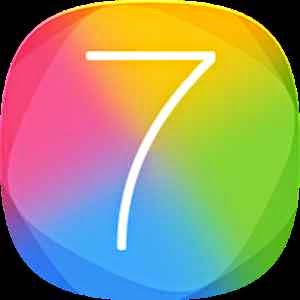 iOS7++ Launcher Theme Full İndir