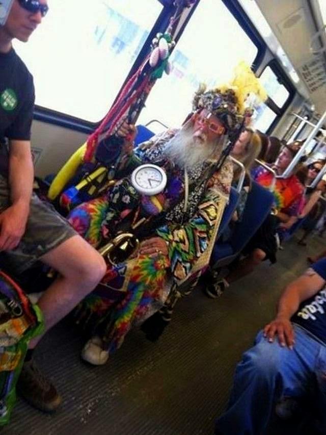 Crazy Passengers of Public Transport