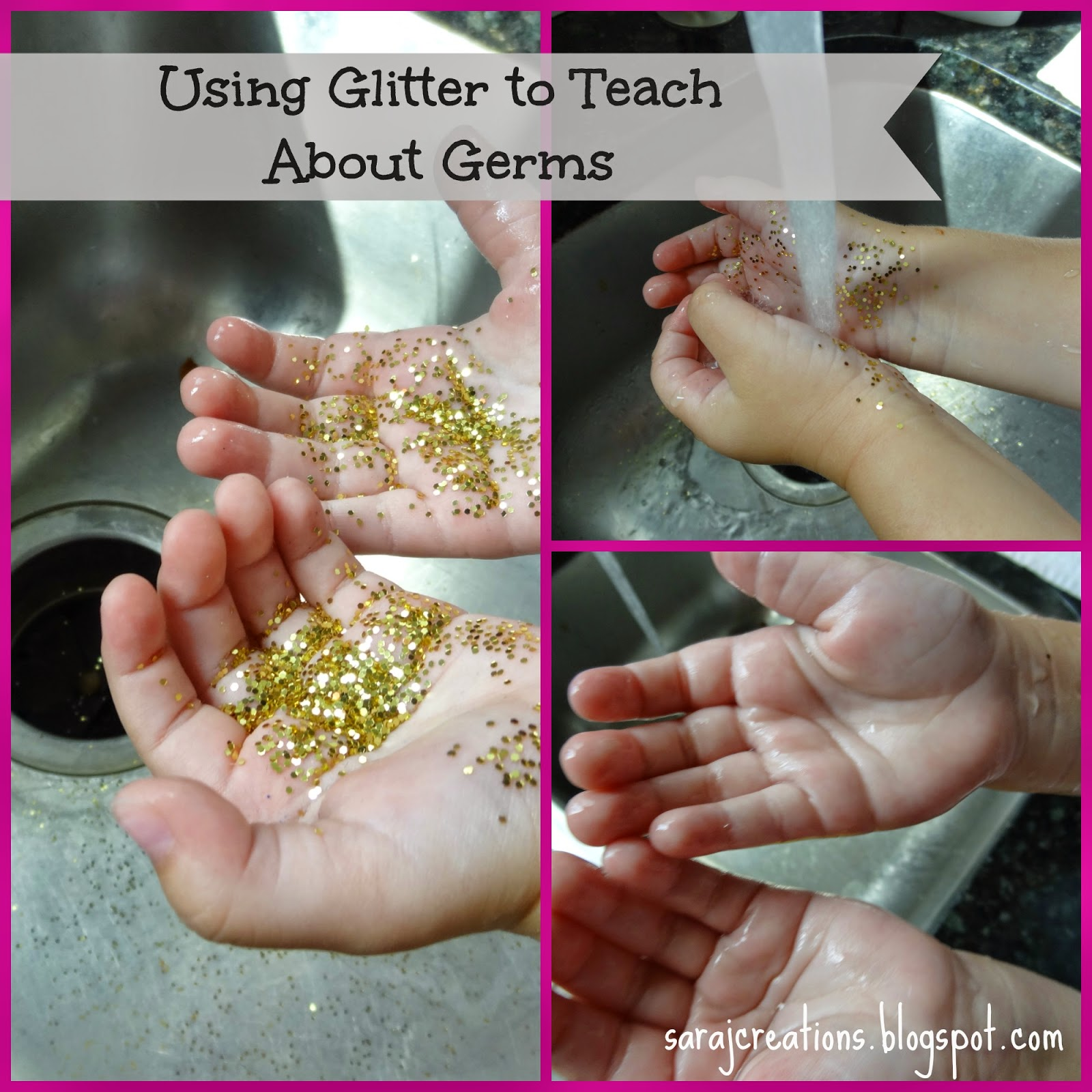 Teaching Kids About Germs - Sara J Creations