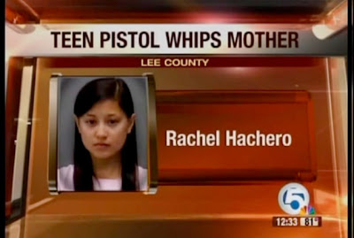 asian girl pistol whips mom for car
