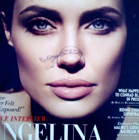 Teenage Mutant Ninja Turtles - Angelina Jolie