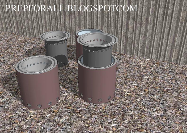 DIY Wood Gas Stove