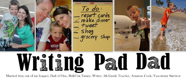 Writing Pad Dad