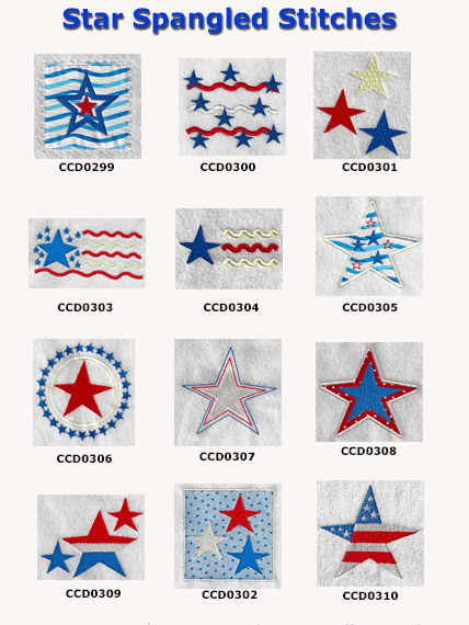 Star Spangled Stitches