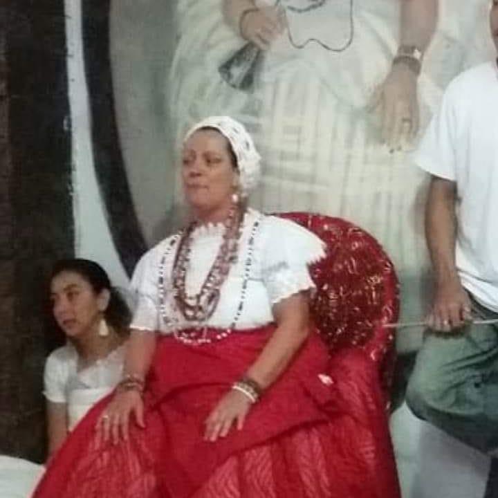iyalorixá Denise Queiroz