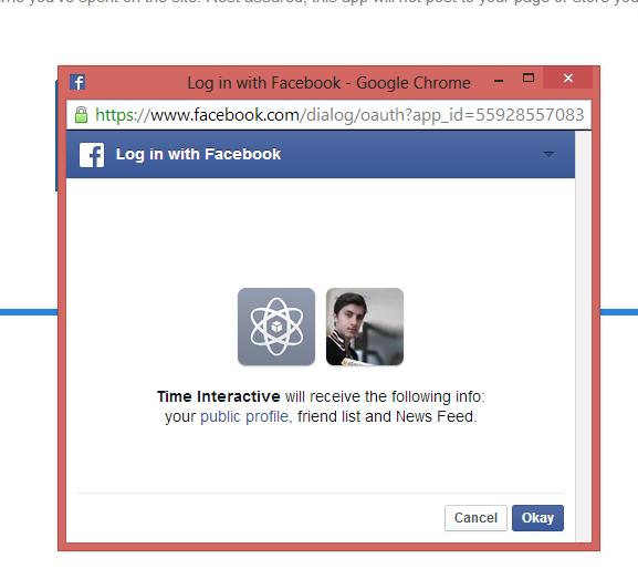 اعرف الوقت الذي ضيعته على الفيس بوك الى اخر مشاركتك