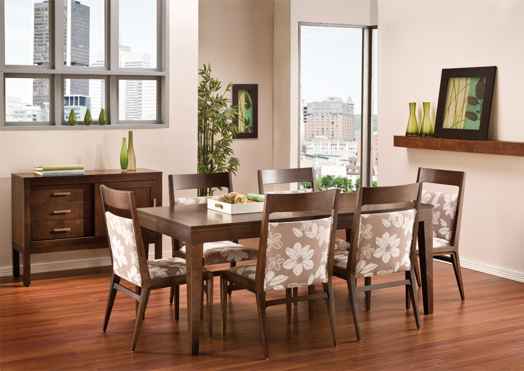 Midi dining room furniture long island new york dining room unique dinette canadel ny bermex - Islands dining room ...