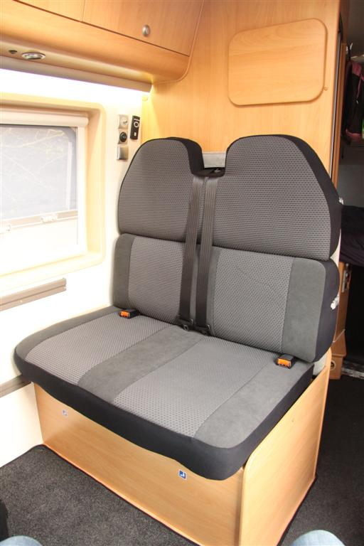motorhome seat covers europe by camper travelling europe by motorhome. Black Bedroom Furniture Sets. Home Design Ideas