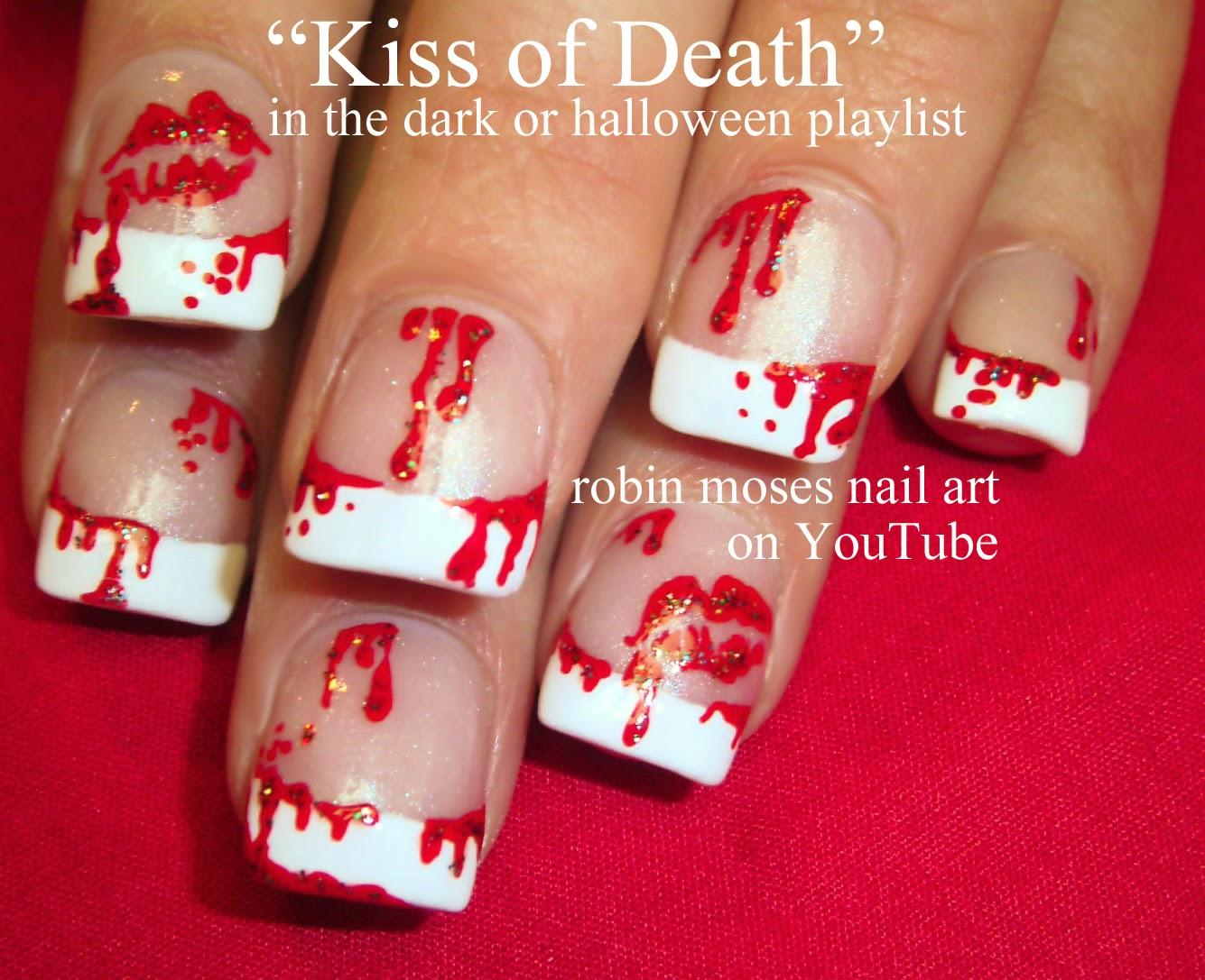 Robin moses nail art halloween nails scary nail art scary halloween barbie nails dead barbie nails robin moses nail art design tutorial prinsesfo Images