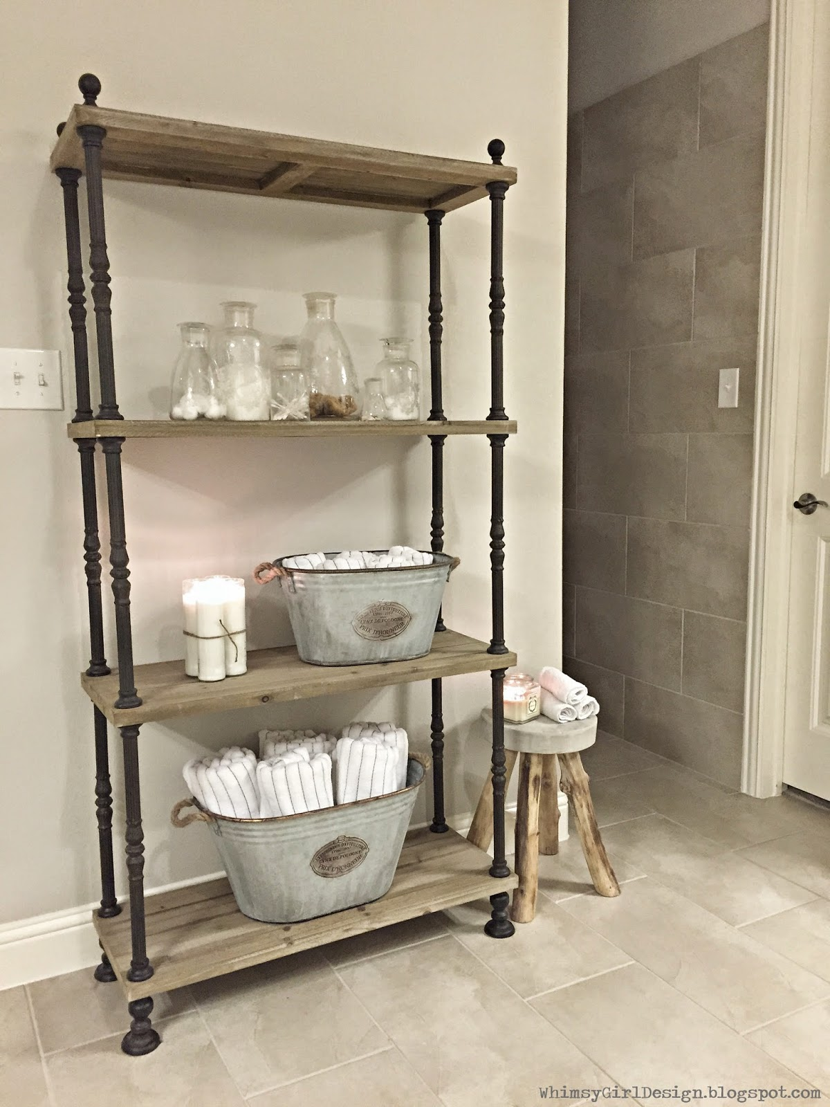 whimsy girl: Our Home: {Master Bathroom}