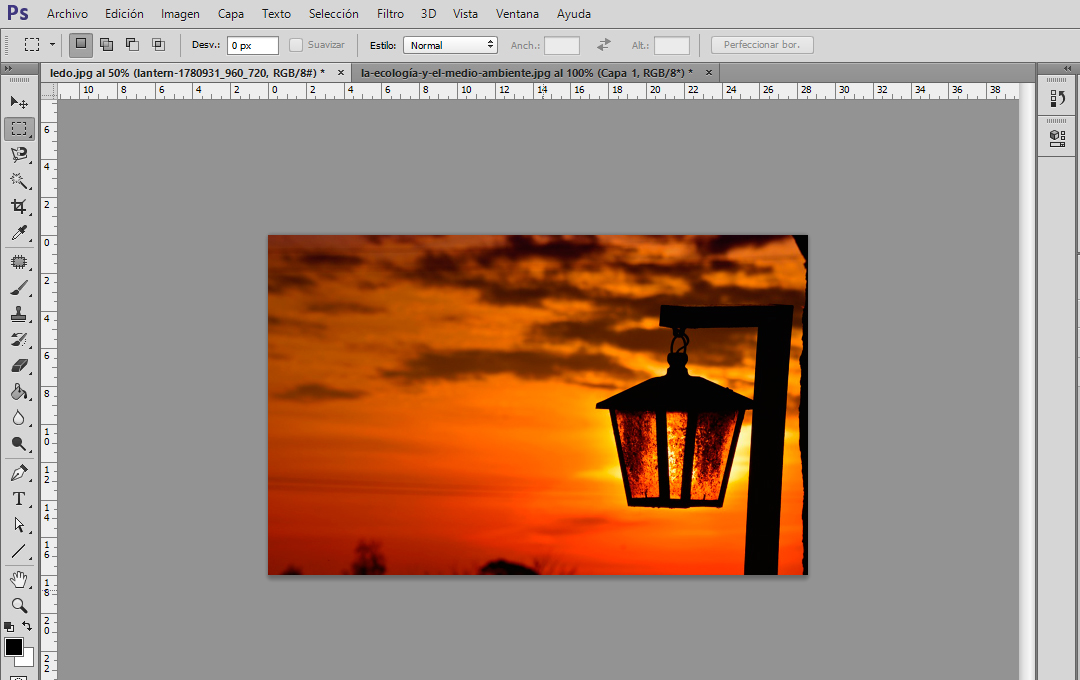 Estilos de capas en Photoshop ~ Tecnología