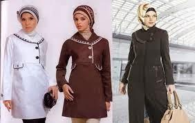 KUMPULAN GAMBAR BAJU KERJA MUSLIM TREND TERBARU Model Busana Kerja Muslim Wanita Unik Elegan