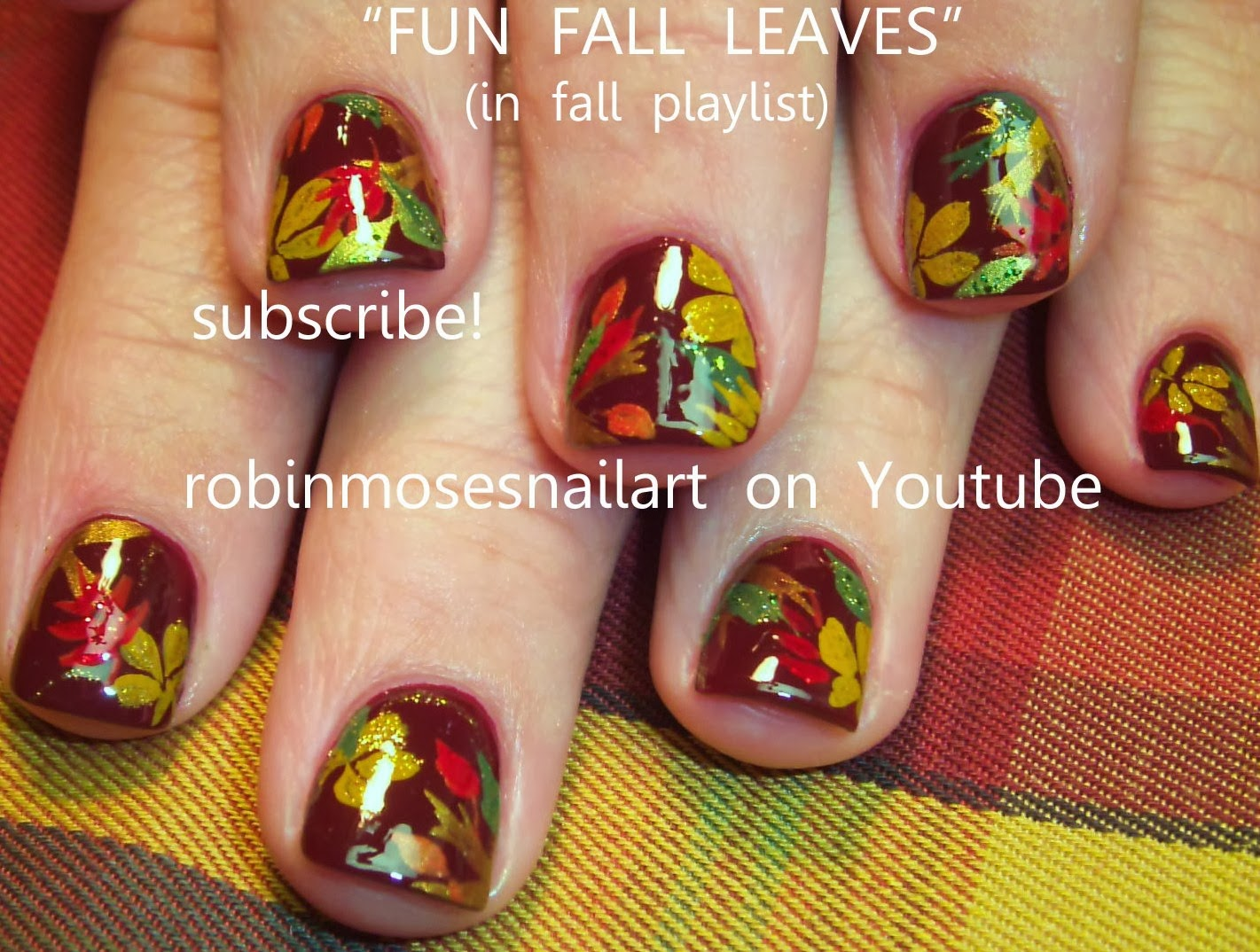 "Nail Art: ""Fall Nail Art"" ""elegant fall nails"" ""cute fall nails"" ""fall"
