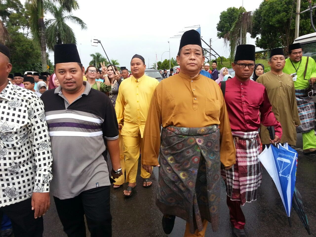 Perarakan Sambutan Maulidur Rasul 1436 H 2015 peringkat negeri Sabah