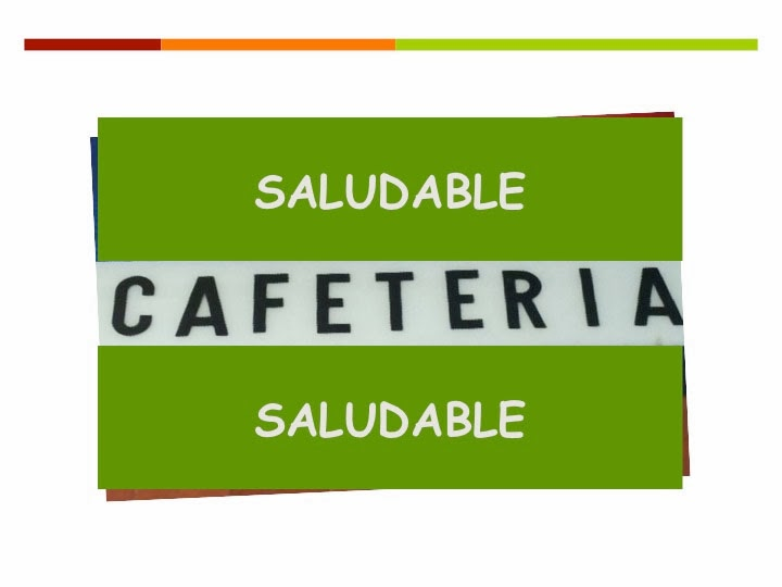 Red c ntabra de escuelas promotoras de salud ies torres for Cafeteria escolar proyecto