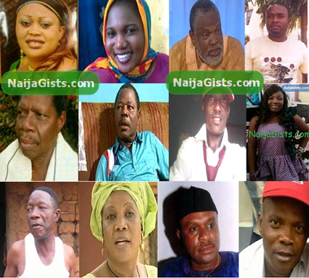 nollywood death list 2013