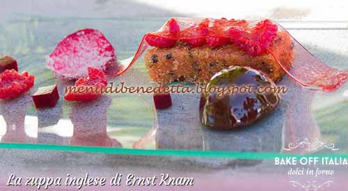 Zuppa inglese ricetta Bake Off Italia 2