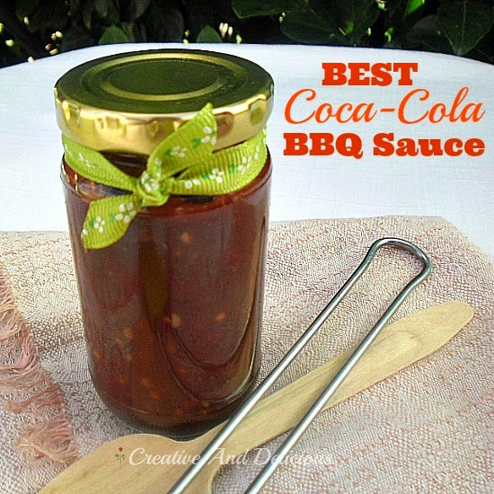 10-Minute BEST Coca-Cola BBQ Sauce