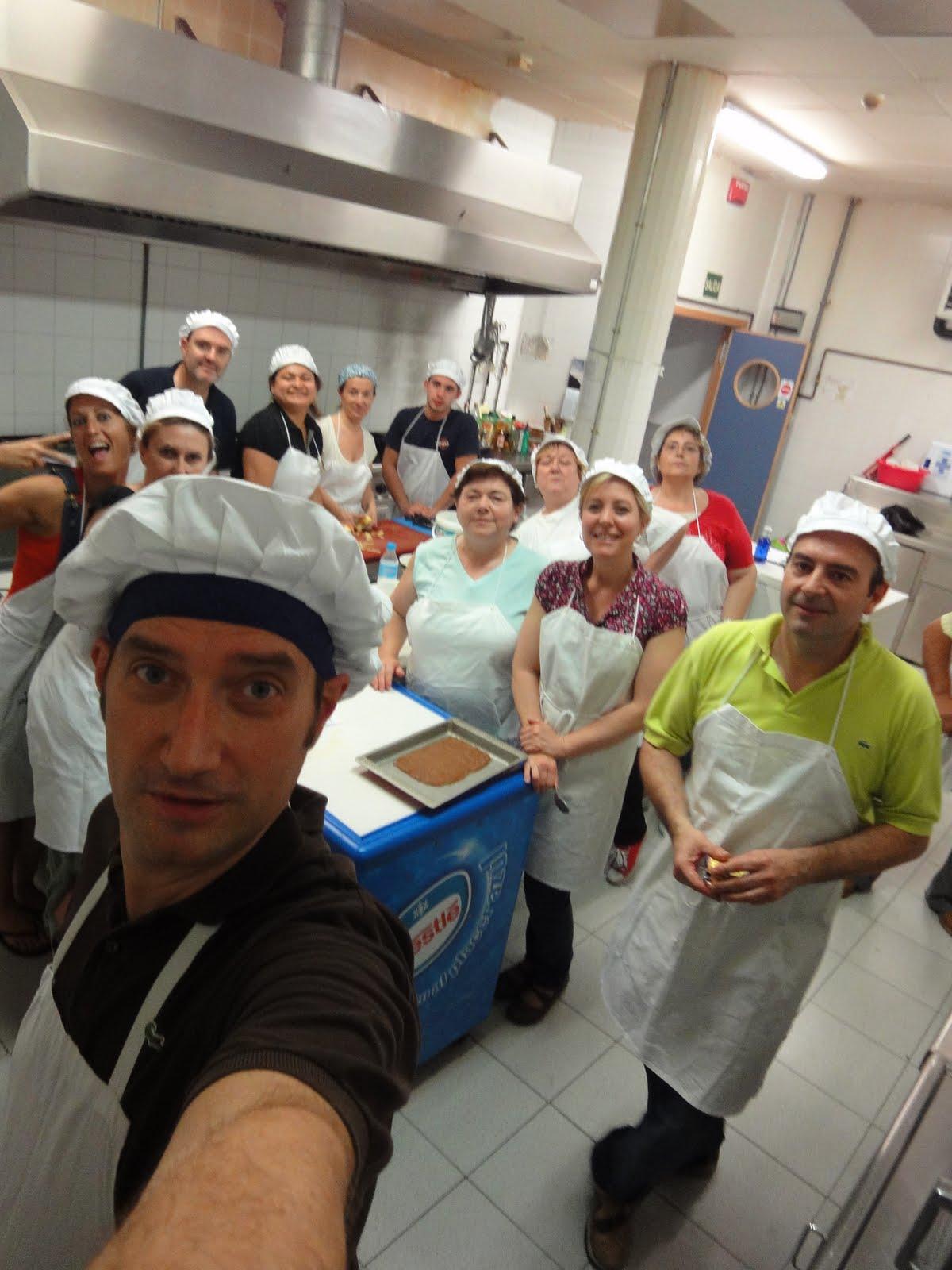 Clases de cocina zaragoza fin del curso de cocina creativa en el centro arsenio jimeno zaragoza - Cursos de cocina zaragoza ...