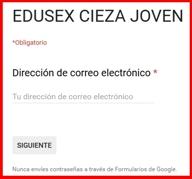 Cuestionario EDUSEX