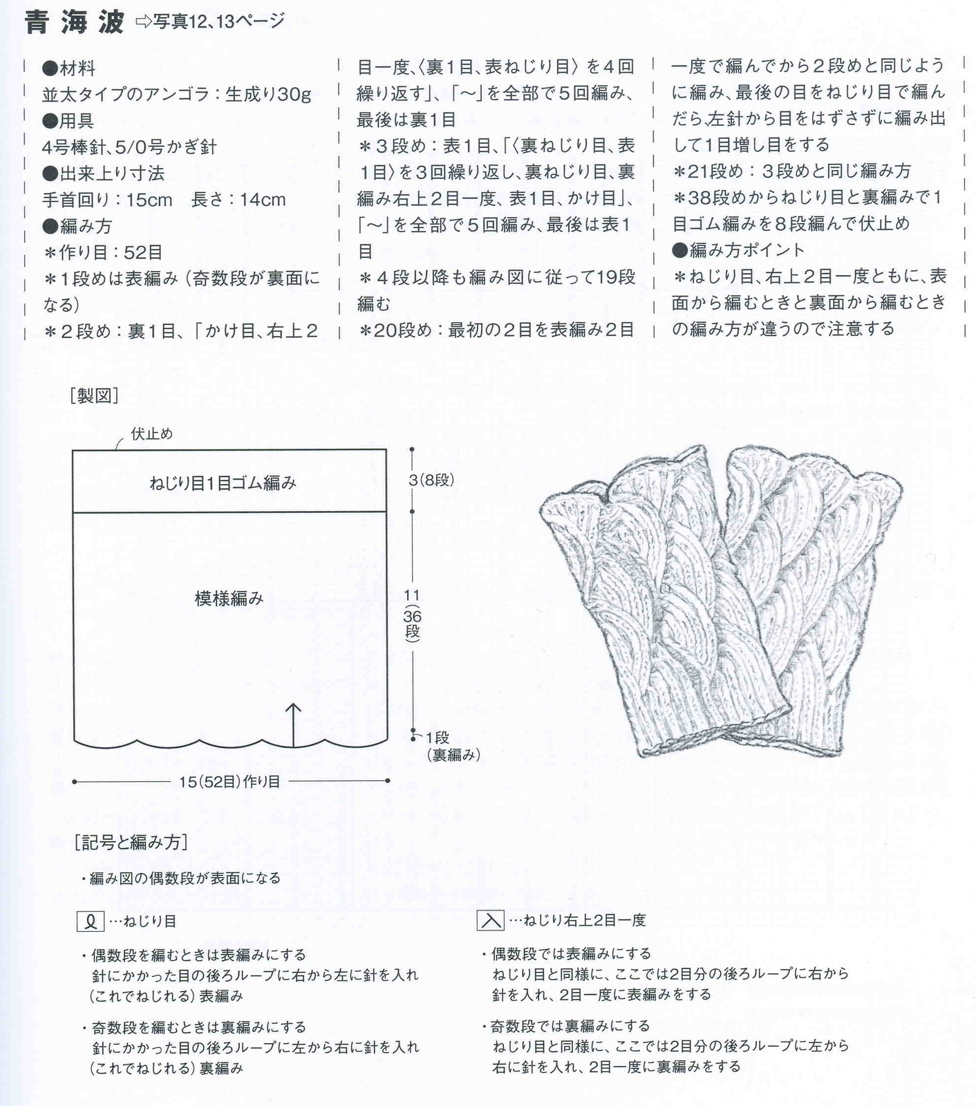 схема вязания пояса на пальцах