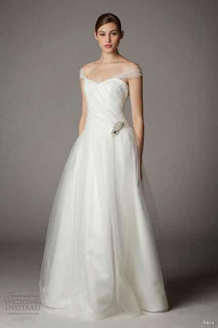 Asia Wedding Dresses 2013-2014 Of Shoulder Straps, Bridal Dresses 2013-2014 In USA, Fashion She9