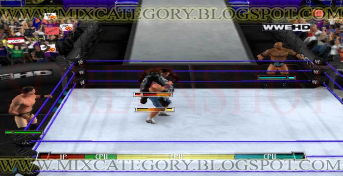 WWE Raw Ultimate Impact 2012 PC Game Download Free