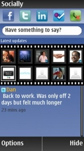 Social Networking App Like Android On Nokia For S60v5 Devices