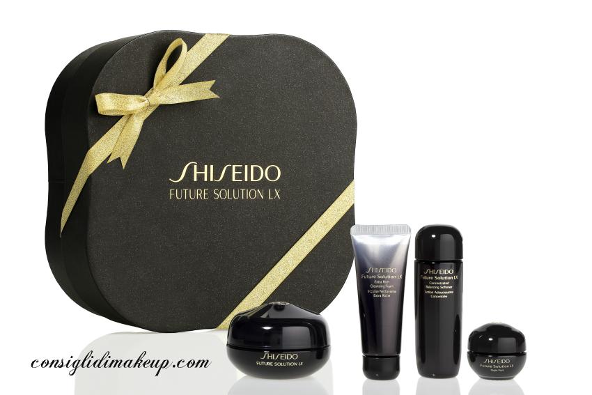 cofanetti shiseido natale 2014