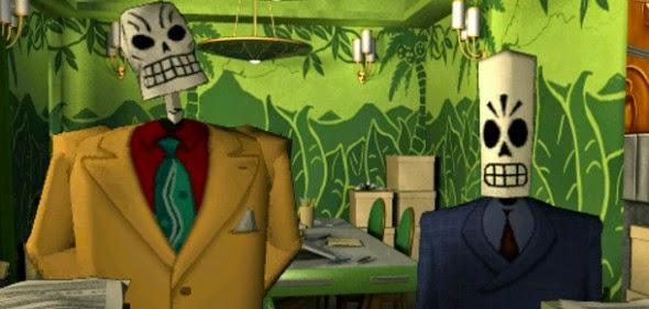 O estúdio Double Fine relançou Grim Fandango, o adventure clássico de 1998