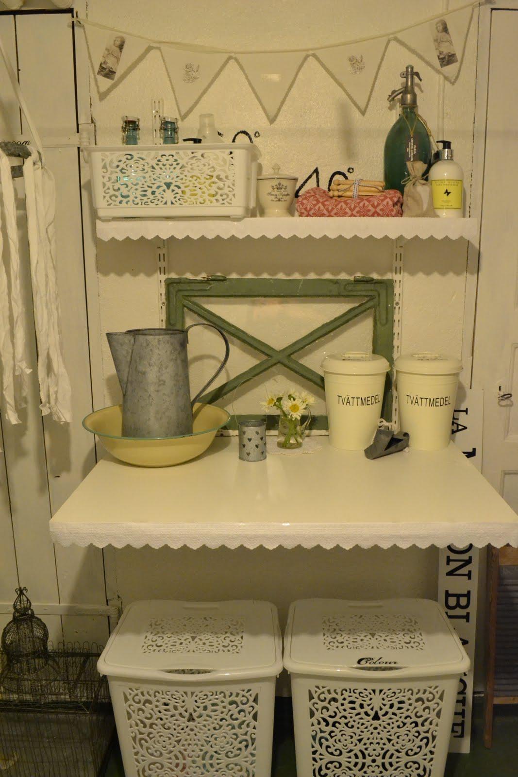 Vita hemmet lyckebo: pimpad tvättstuga!