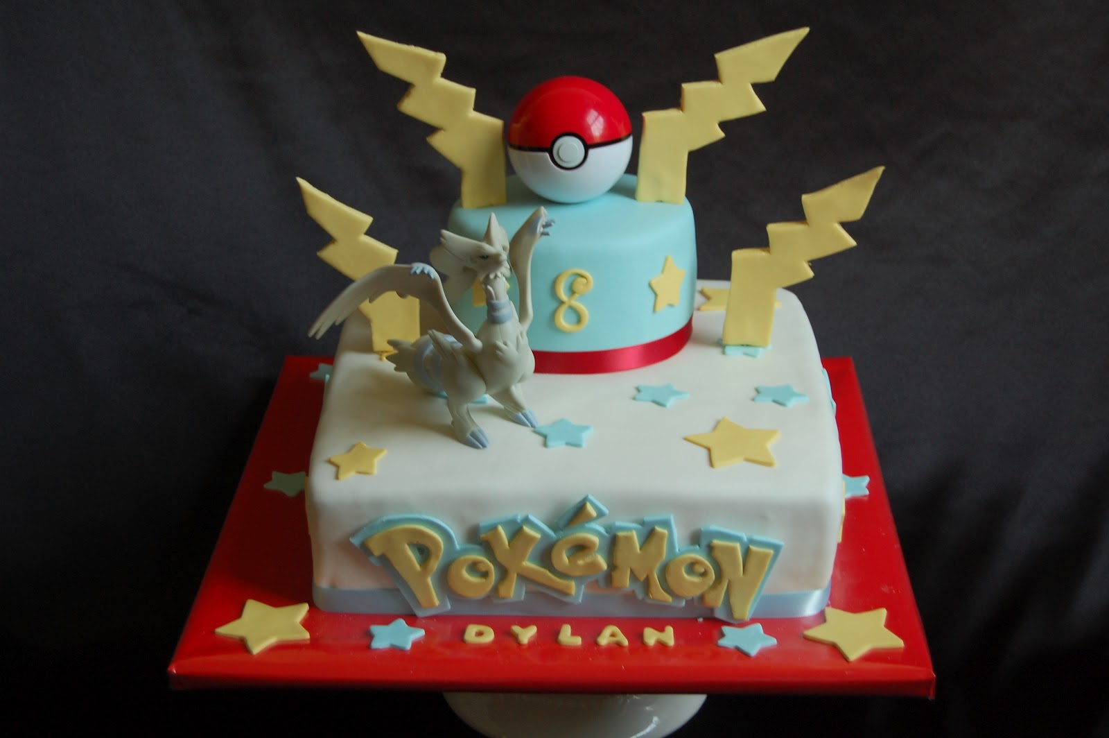 Groudon Cake Toppers