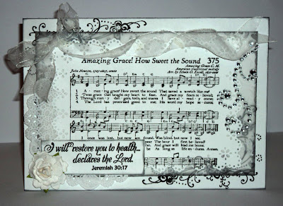 "Our Daily Bread designs ""Amazing Grace Hymn"", ""Get Well"" Designer Lucy Evans"