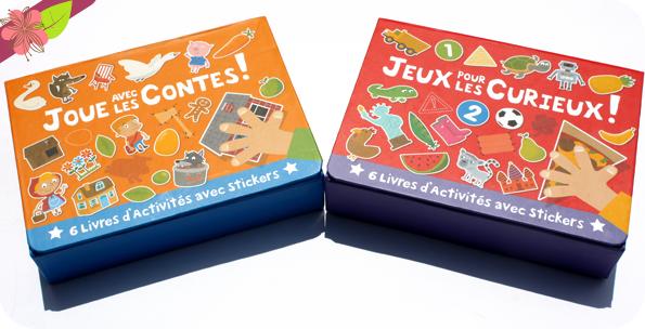 """""""Joue avec les Contes !"""" et """"Jeux pour les curieux !"""" - Gründ Jeunesse"""