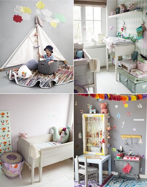 Habitaciones infantiles bohemias ministry of deco - Deco habitaciones infantiles ...