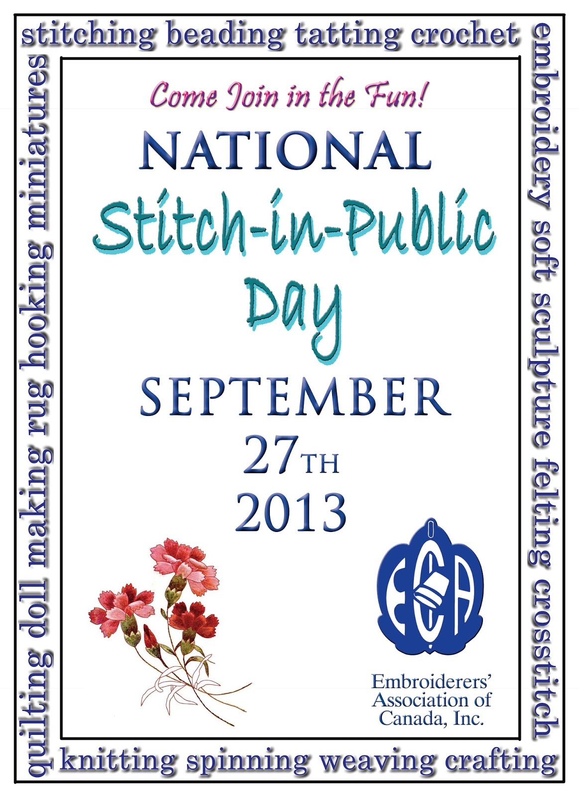 September 27th 2013 Nat'l Stitch in Public Day