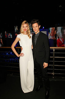 Emma Ishta and Kyle Harris (Kirsten Clark and Cameron on Stitchers)