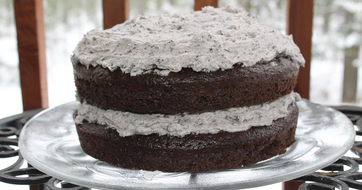... .: Chocolate Cake with Oreo Buttercream: For the Birthday Boy