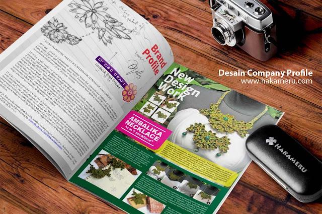 Portfolio company profile - jasa desain company profile online
