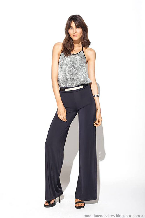 Pantalones de vestir moda mujer primavera verano 2015 MAB.