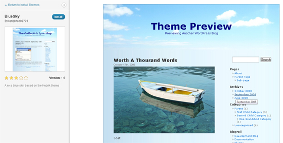 features in WordPress 3.4