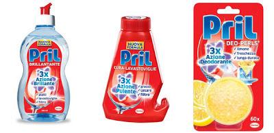 i nuovi prodotti pril per una lavastoviglie pulita e longeva